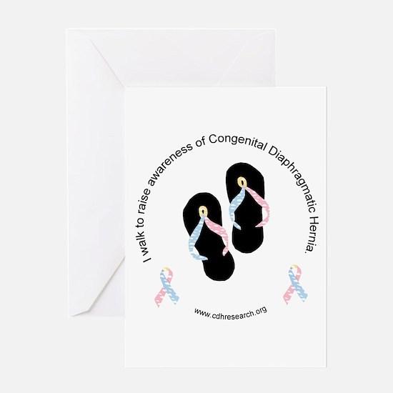 I Walk To Raise CDH Awareness Greeting Card