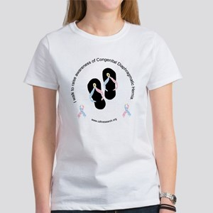 I Walk To Raise CDH Awareness Women's T-Shirt