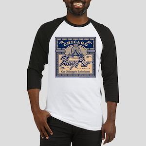 Navy Pier Box Design Baseball Jersey