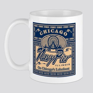 Navy Pier Box Design Mug