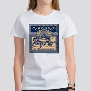 Navy Pier Box Design Women's T-Shirt