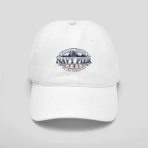 Navy Pier Oval Stylized Skyline design Cap