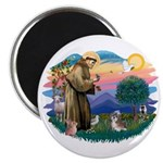 St Francis #2/ Shih Tzu #8 Magnet
