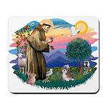 St Francis #2/ Shih Tzu #8 Mousepad
