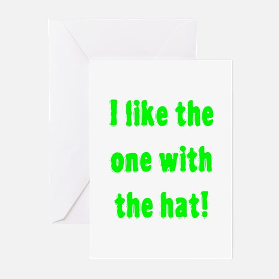 I Like The One With The Hat Greeting Cards (Pk of