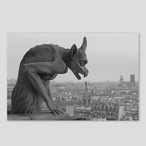 Notre Dame Gargoyle Postcards (Package of 8)