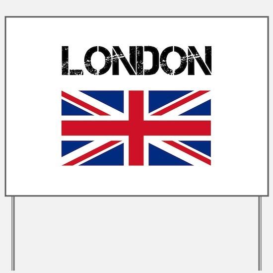 London Union Jack Yard Sign