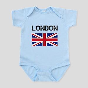 London Union Jack Infant Bodysuit
