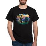 St.Francis #2 / Black Lab Dark T-Shirt