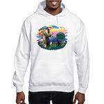 St.Francis #2 / Black Lab Hooded Sweatshirt