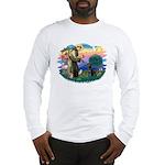 St.Francis #2 / Black Lab Long Sleeve T-Shirt
