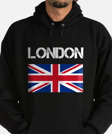 London Union Jack Hoodie (dark)