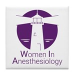 Women in Anesthesiology Tile Coaster