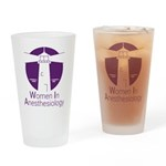 Women in Anesthesiology Drinking Glass