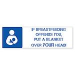 Breastfeeding Lactivist Sticker (Bumper 10 pk)
