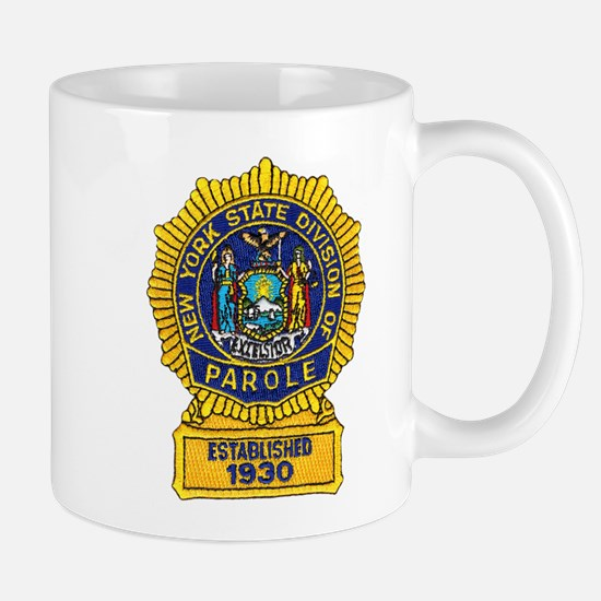New York Parole Officer Mug