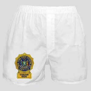 New York Parole Officer Boxer Shorts