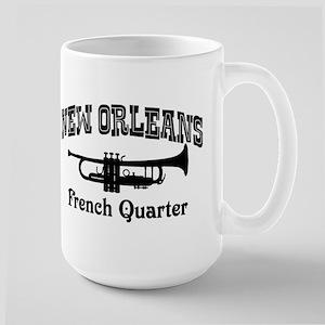 New Orleans French Quarter Large Mug