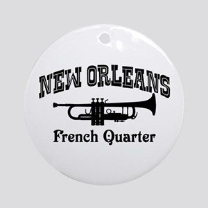 New Orleans French Quarter Ornament (Round)