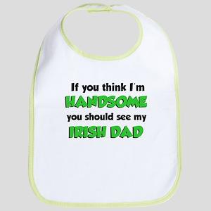 I'm Handsome Irish Dad Bib