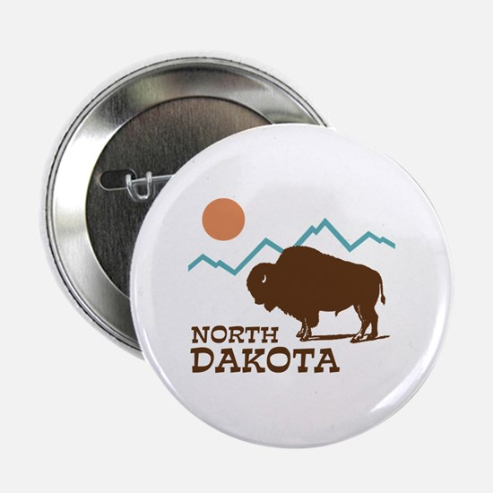"North Dakota 2.25"" Button"