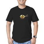Chopsticks For Salad Men's Fitted T-Shirt (dark)