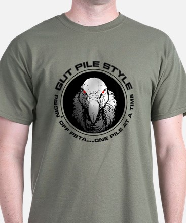 Gut Pile Style Members Buzzard T-Shirt