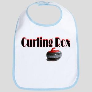 Curling Rox Bib