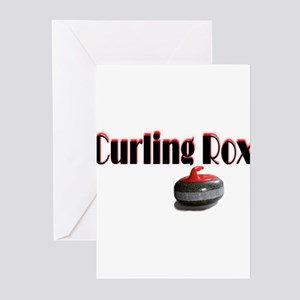 Curling Rox Greeting Cards (Pk of 10)