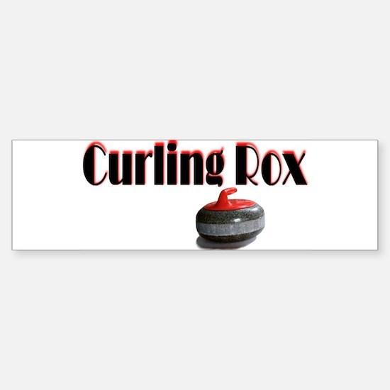 Curling Rox Bumper Bumper Bumper Sticker