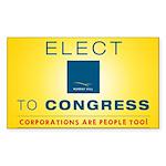 Elect Murray Hill Inc. Bumper Sticker