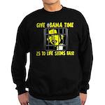Give Obama Time Sweatshirt (dark)