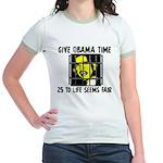 Give Obama Time Jr. Ringer T-Shirt