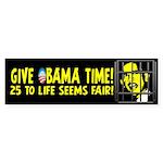 Give Obama Time Sticker (Bumper 10 pk)