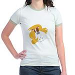 JRT Orange Burst Logo Jr. Ringer T-Shirt