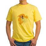 JRT Orange Burst Logo Yellow T-Shirt