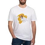 JRT Orange Burst Logo Fitted T-Shirt
