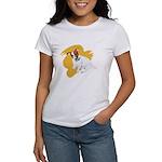 JRT Orange Burst Logo Women's T-Shirt