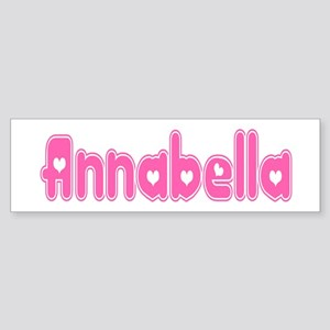 """Annabella"" Bumper Sticker"