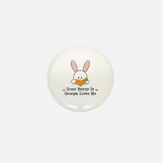 Some Bunny In Georgia Loves Me Mini Button