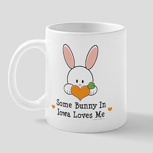 Some Bunny In Iowa Loves Me Mug