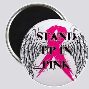 Stand Up In Pink Magnet