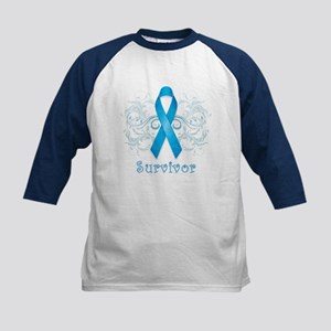Prostate Cancer Survivor Kids Baseball Jersey