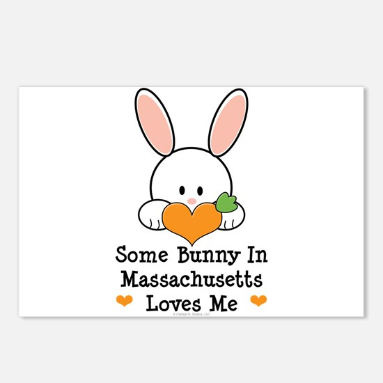 Some Bunny In Massachusetts Postcards (Package of