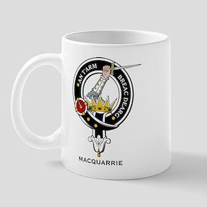 MacQuarrie Clan Crest Badge Mug