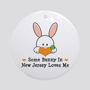 Some Bunny In New Jersey Ornament (Round)