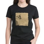Jack Russell Vintage Style Women's Dark T-Shirt