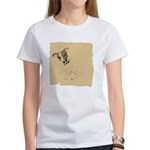 Jack Russell Vintage Style Women's T-Shirt