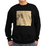 Jack Russell Vintage Style Sweatshirt (dark)