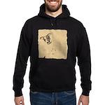 Jack Russell Vintage Style Hoodie (dark)